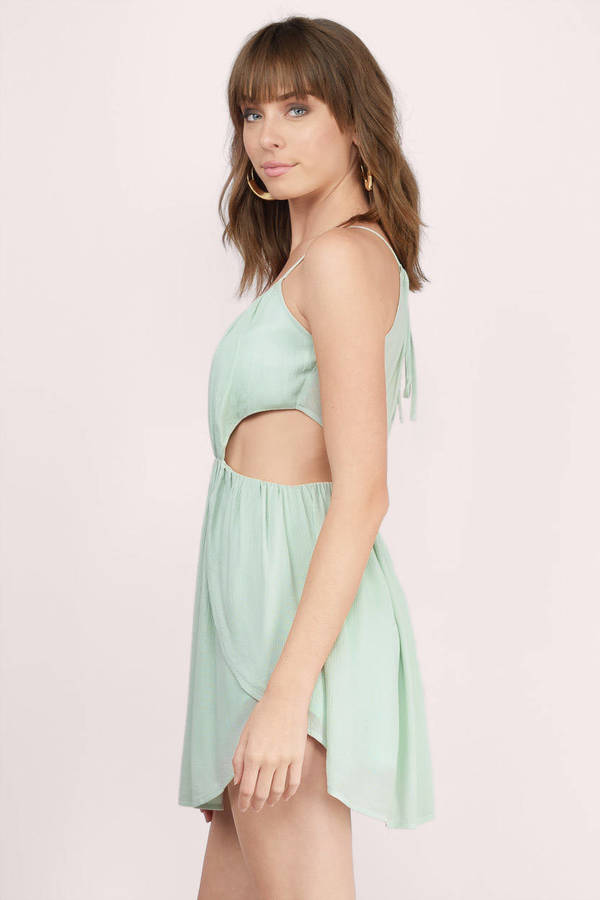 362b84e2b49 Happily Ever After Olive Skater Dress Happily Ever After Olive Skater Dress  ...