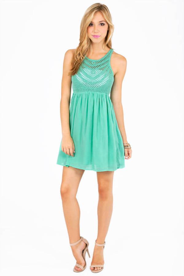 In My Knitwork Tank Dress