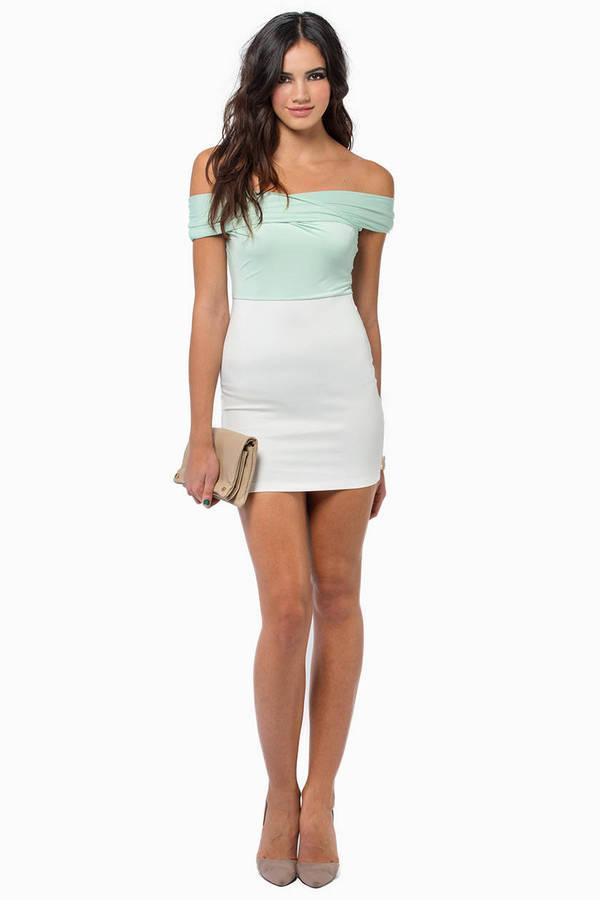 Kara Shoulder Wrap Dress