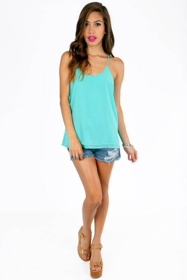 Liz Strappy Tank Top