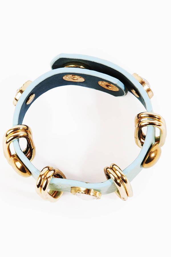 Rocks and Studs Bracelet