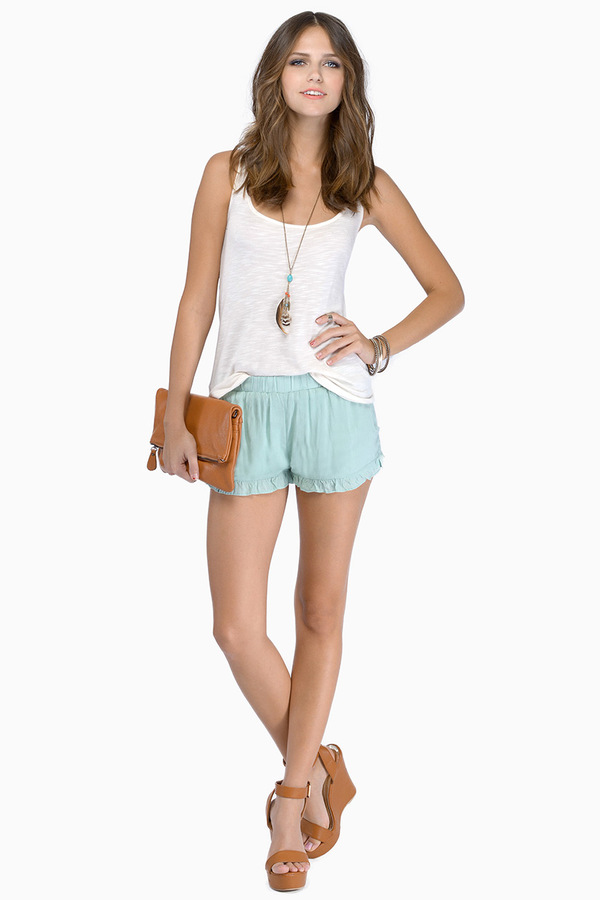 Ruffled Feelings Shorts