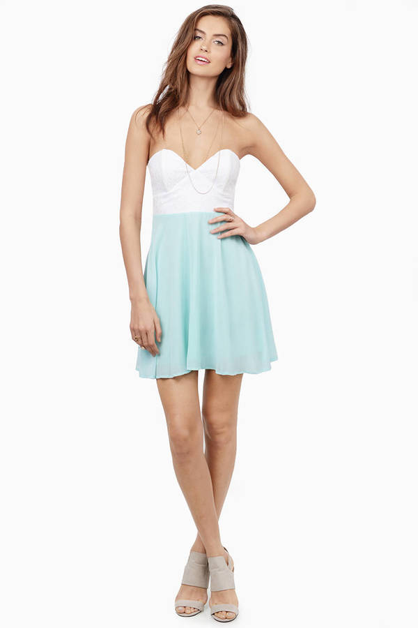 Tia Strapless Dress
