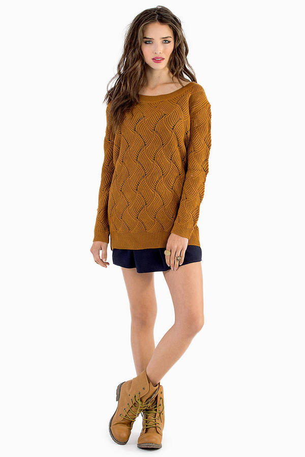 Collision Knit Sweater