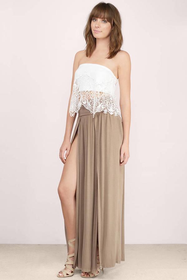 Lani Mocha Maxi Skirt Lani Mocha Maxi Skirt ... - Brown Skirt - Pleated Maxi Skirts - Mocha Skirt - Maxi Pleated