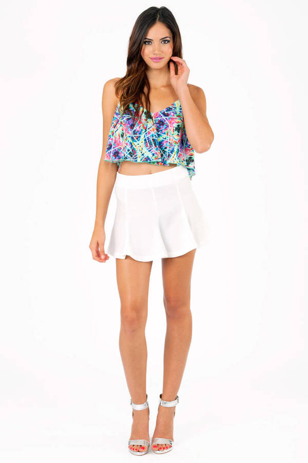 Changing Angles Crop Top