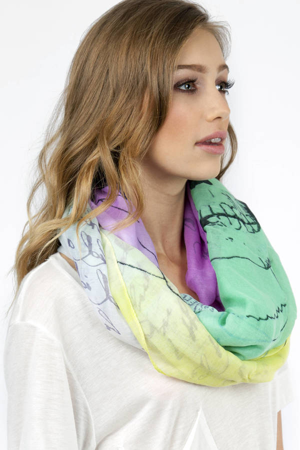 Colorful Rebel Scarf