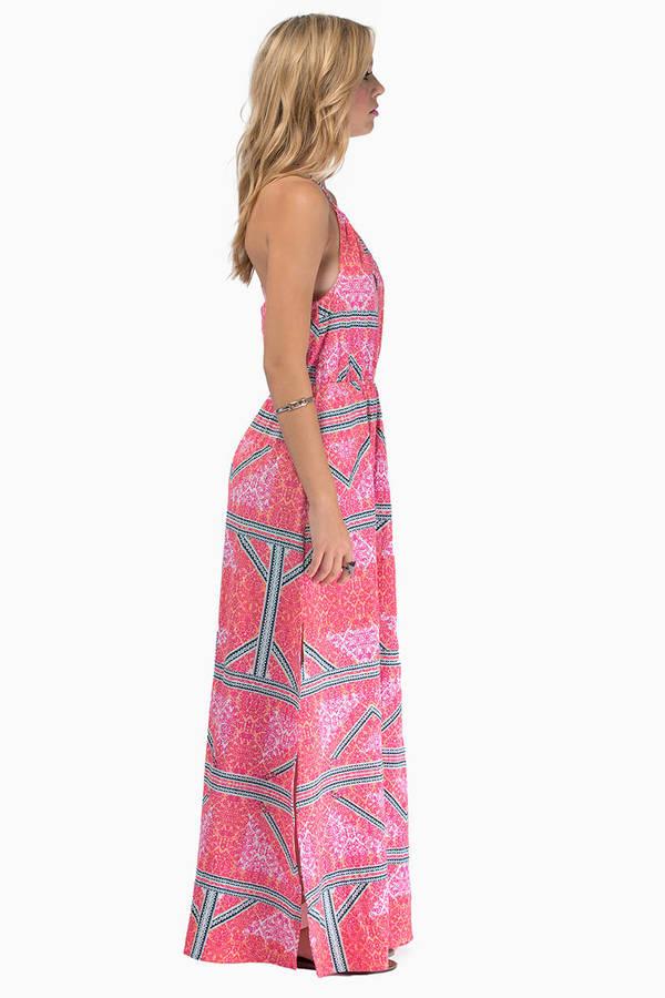 MINKPINK Eastern Aztec Maxi Dress