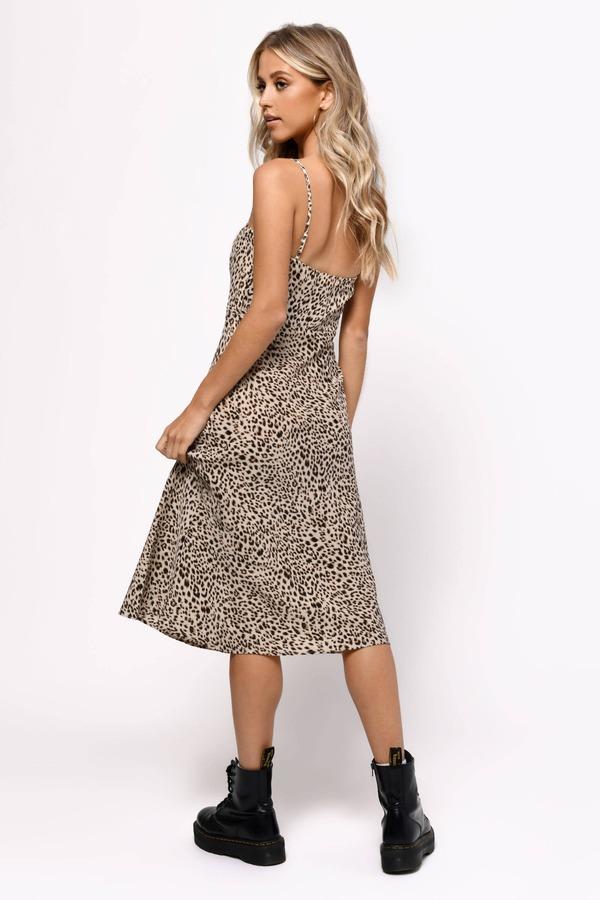 96f04c7d3f51 ... Tobi Animal Print Dresses, Multi, Give Me More Leopard Print Midi Dress,  Tobi
