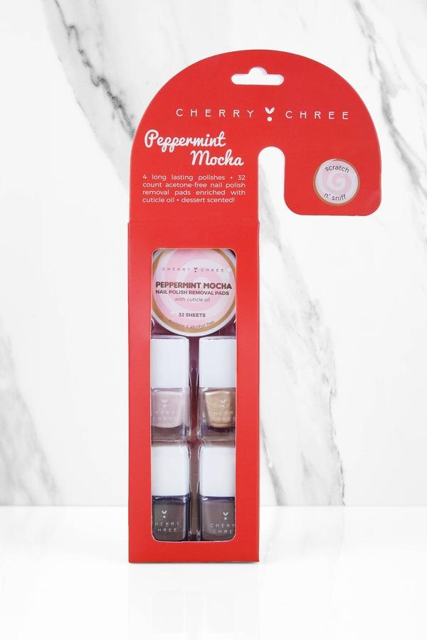 Peppermint Mocha Nail Polish Set