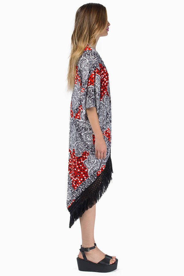 MINKPINK Spot Surprise Kimono