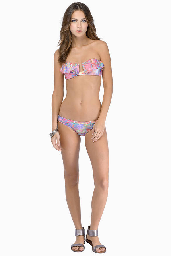 Insight Staticko Bandeau Bikini Set