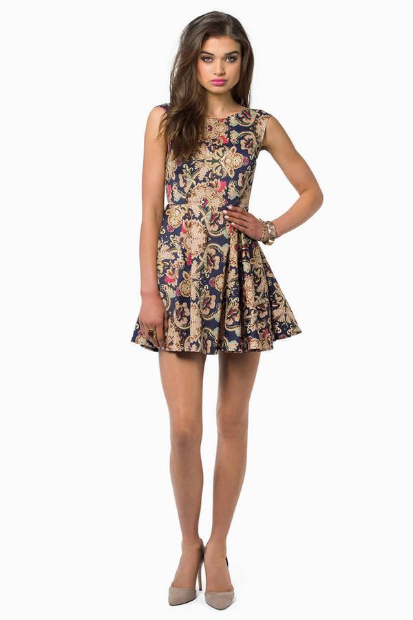 Barococo Skater Dress