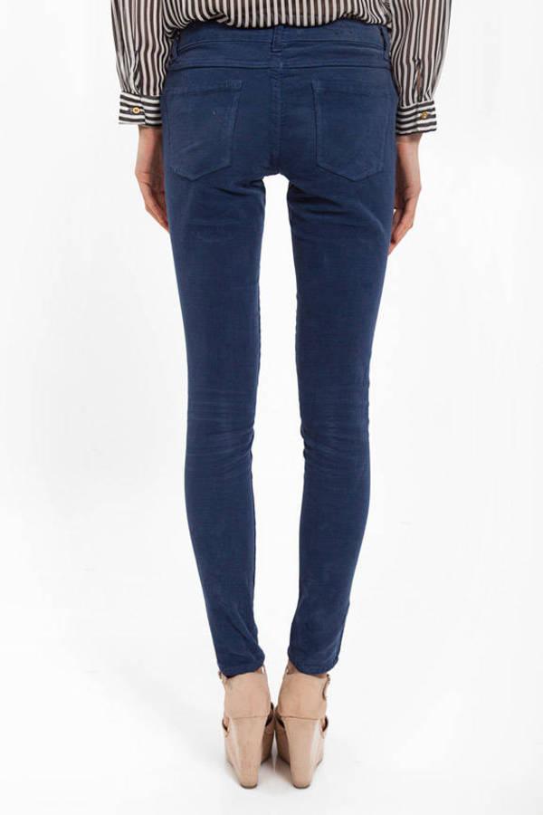 Corduroy Skinny Pants