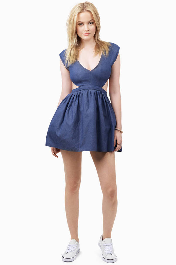 Schrock Frock Cutout Dress