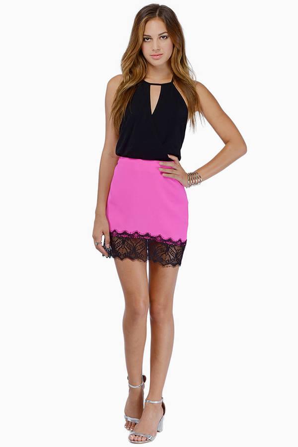 Never Go Back Skirt