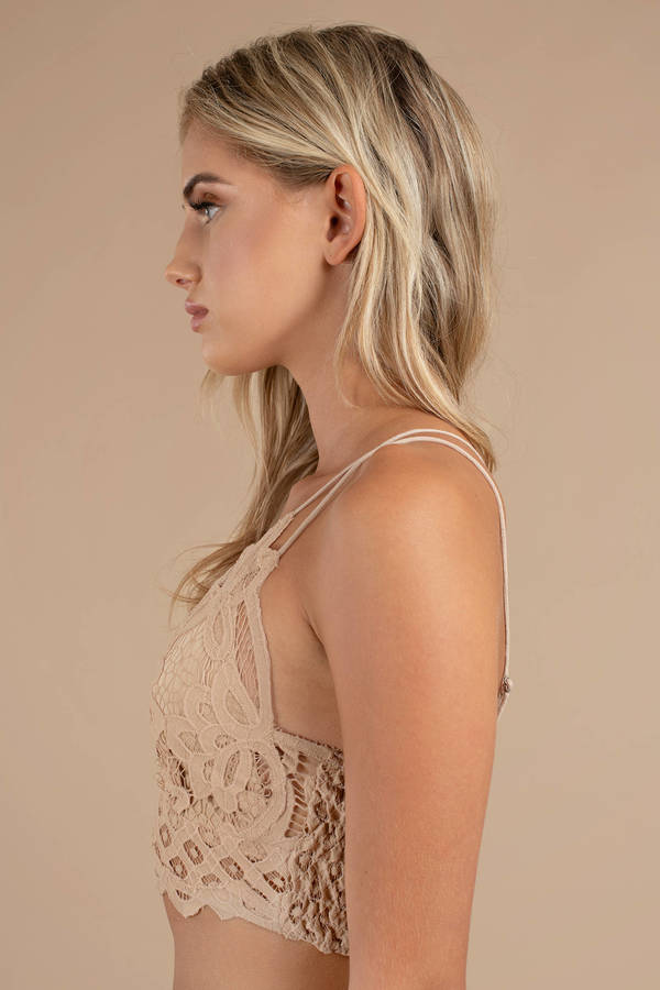 dfed0f383024d ... Free People Free People Adella White Lace Bralette ...