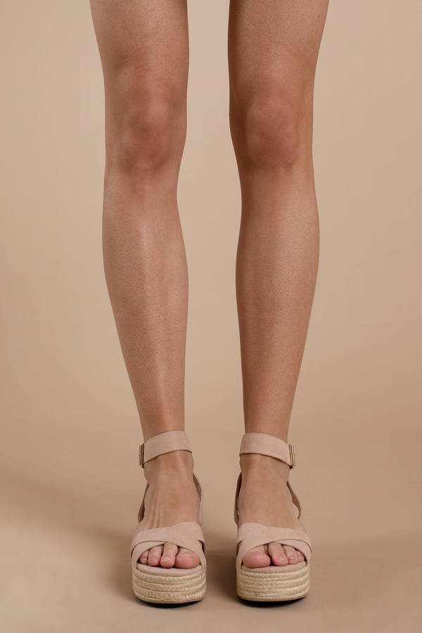 a9e550a11a0 ... Chinese Laundry Chinese Laundry Zala Nude Suede Flatform Espadrilles ...