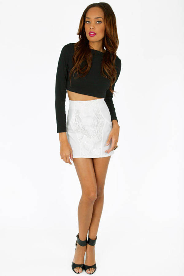 About Lace Skirt