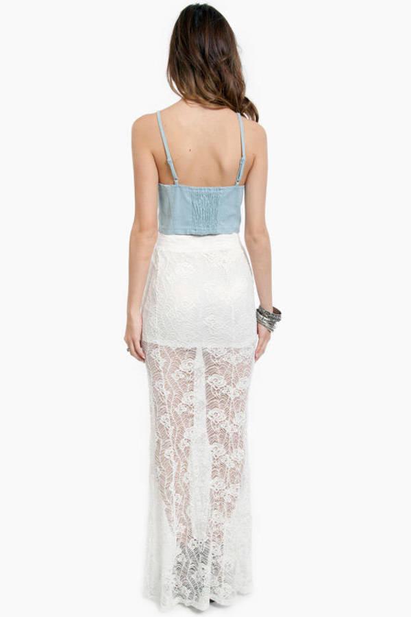 Lulu Lace Skirt