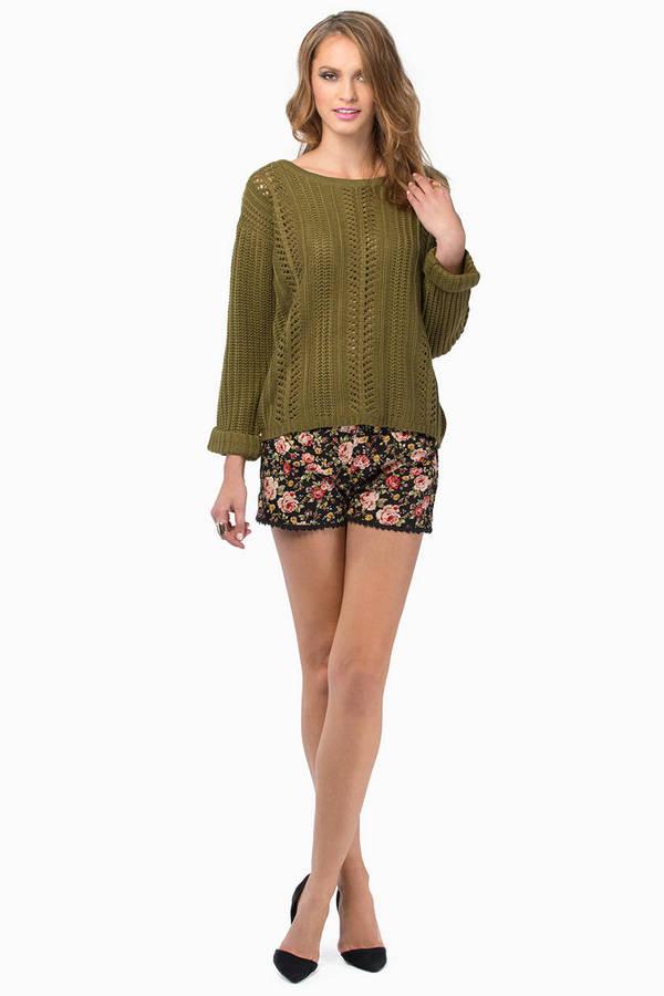 Alice Crochet Sweater