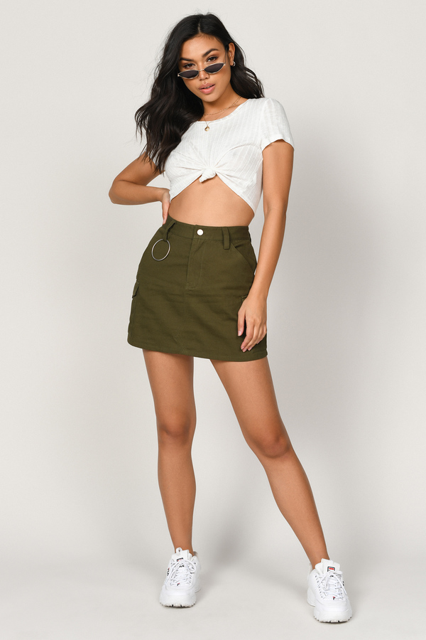 2019 factory price factory outlets search for clearance Cadet Marsha Utility Skirt