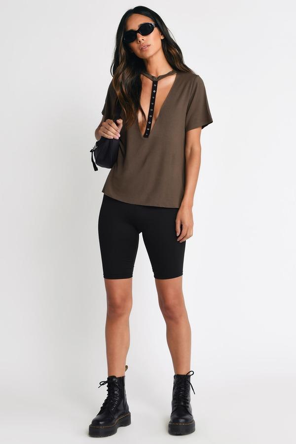 bc56cc78c987bc Tees for Women | Basic Long Tees, Cute Tee Shirts | Tobi