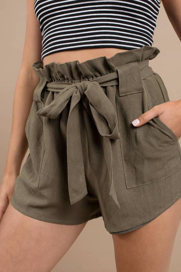6660bbab1 Flowy Shorts | Black High Waisted, Red, Blue, White Flowy Shorts | Tobi