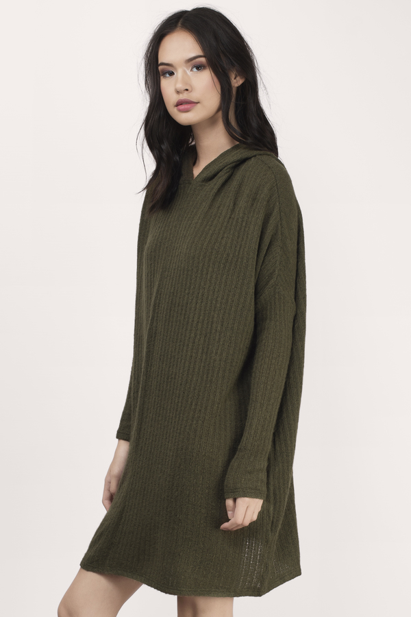 Olive Sweater - Oversized Sweater - Army Green Sweater - Olive ...