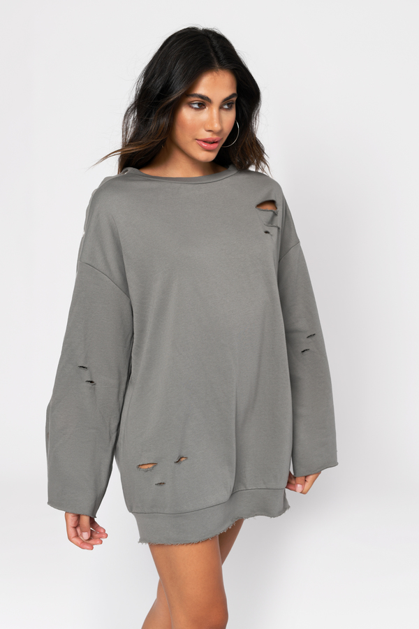 e53795e4749 Cute Black Acid Sweatshirt - Distressed Sweatshirt - Oversized -  29 ...