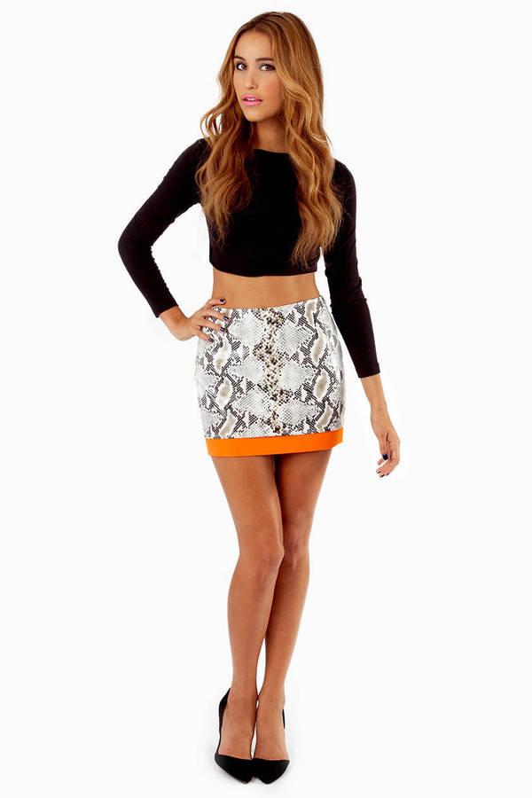 Rockin' Reptile Skirt