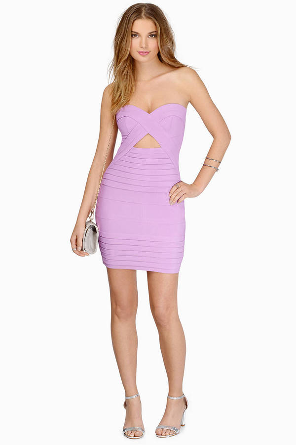 Diana Strapless Bodycon Dress