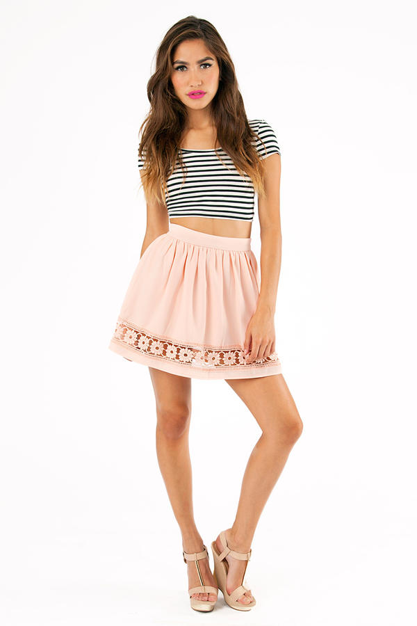 Peeking Petals Skirt