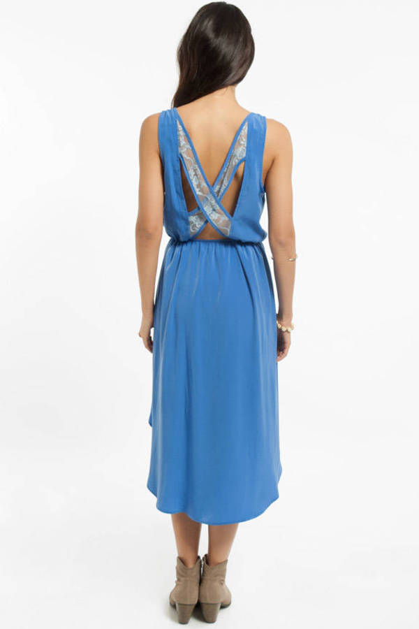 Sonia Lace Cross Back Dress