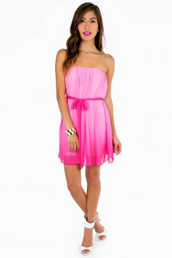 Fade Out Sweetheart Dress