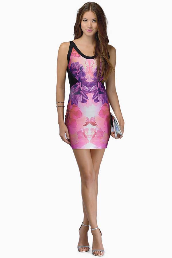 Floral Aftershock Dress