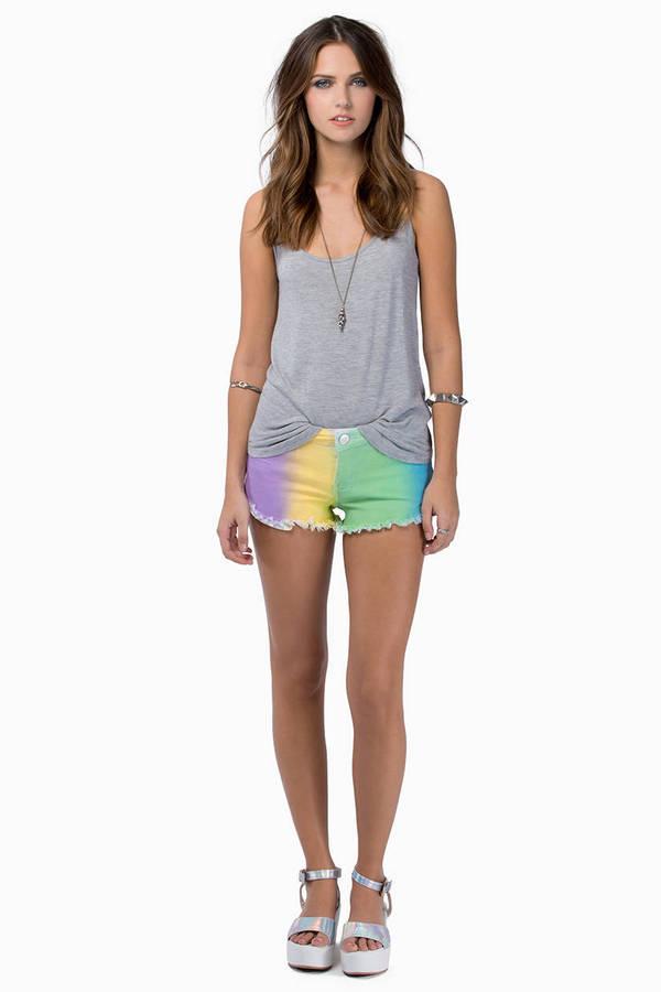 Reverse Rainbow Dreams Shorts