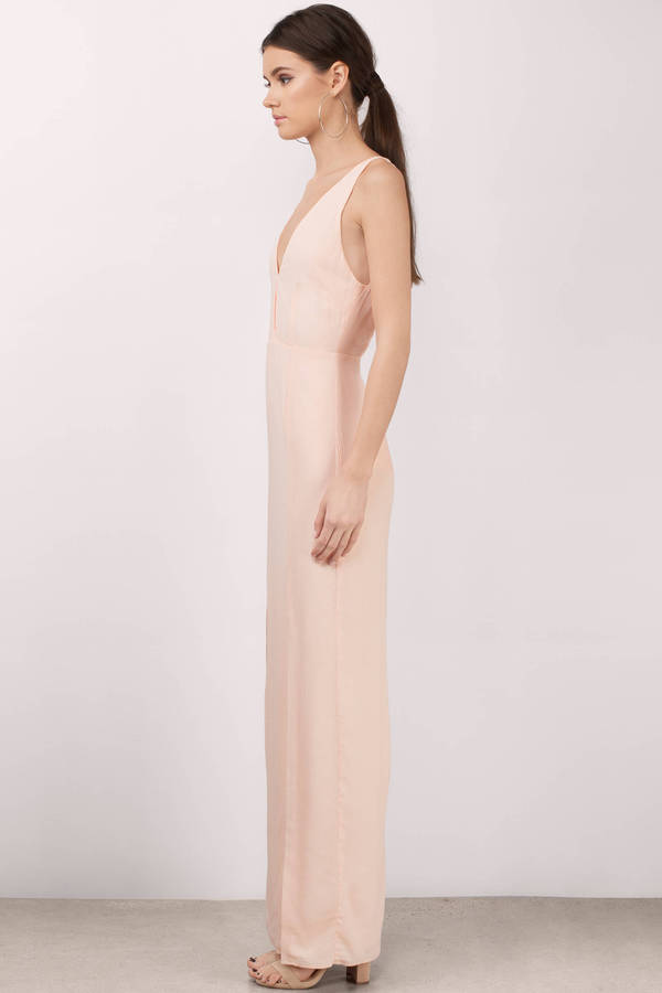 20f7b82fcaf Pink Maxi Dress - Backless Homecoming Dress - Elegant Pink Dress ...