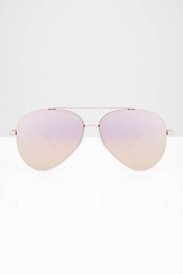 Accessories, Tobi, Pink Oceans Away Mirrored Aviators