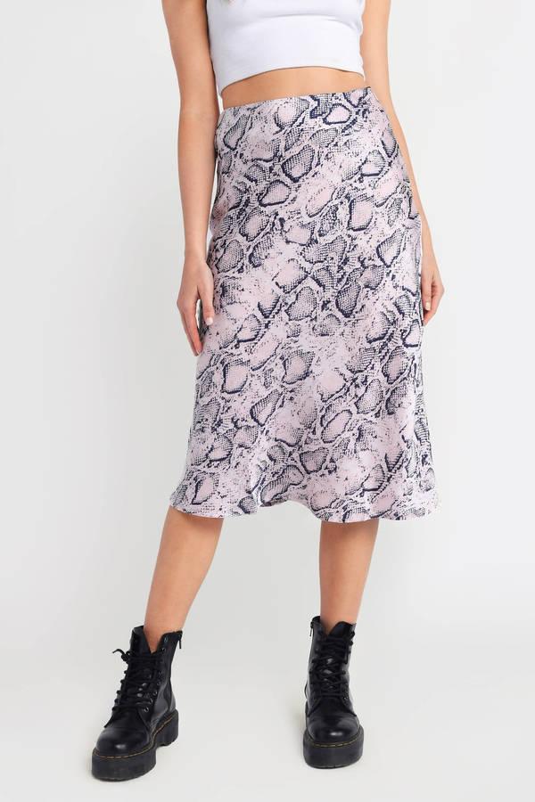 0fa4fcc63 Midi Skirts   White Midi Skirts, Red Pleated Midi Skirt, A-line   Tobi