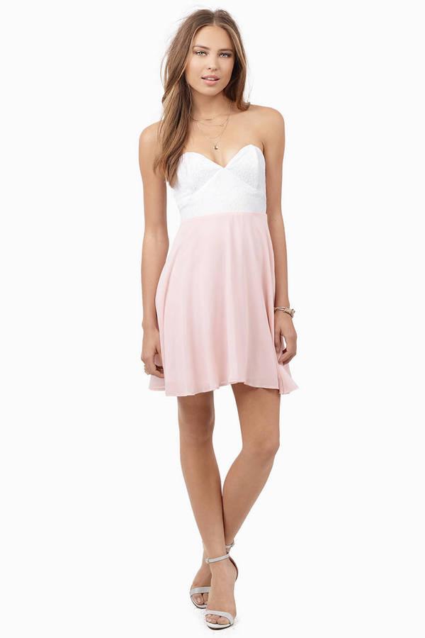 Tia Strapless Dress
