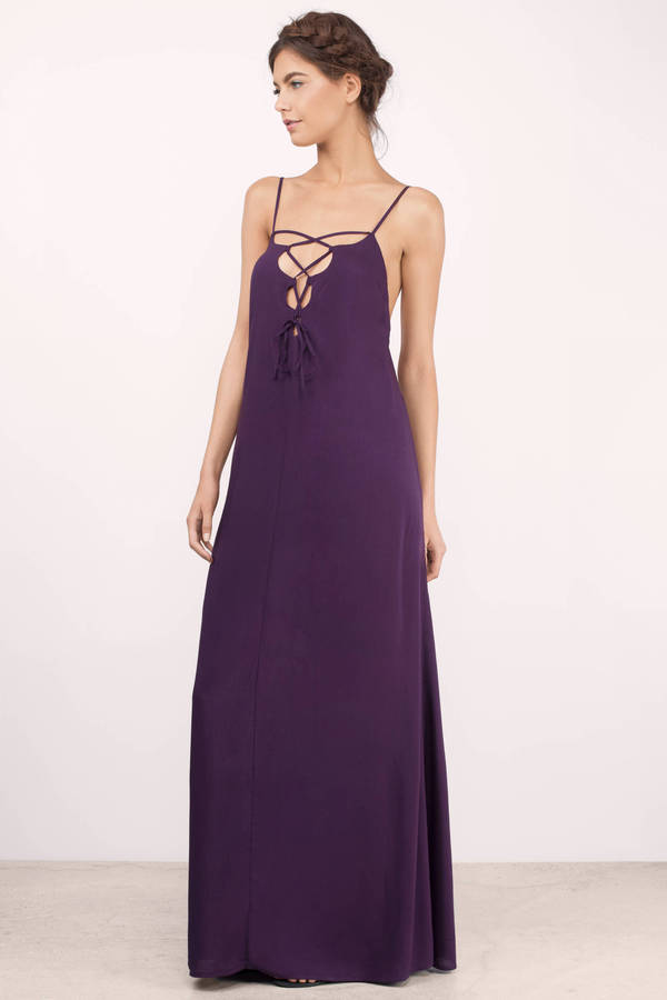 Purple Dresses  Lilac Plum Magenta Mauve Eggplant Dresses  Tobi