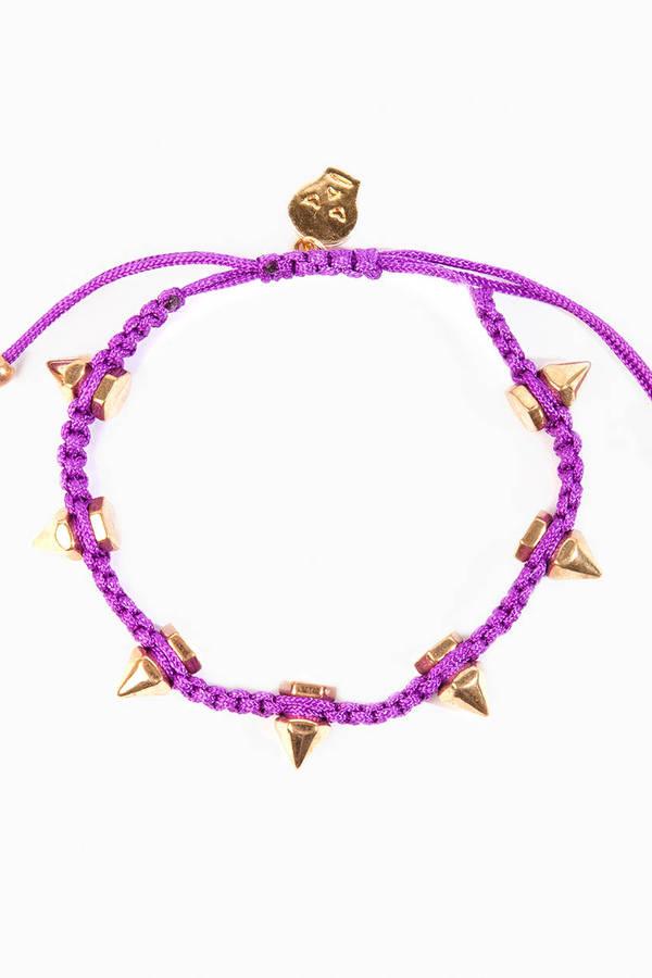 Spiked Friendship Bracelet