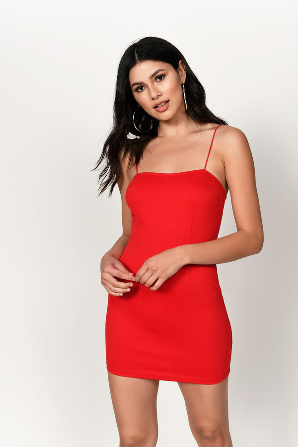 ... Tobi Homecoming Dresses, Red, Angie Bodycon Dress, Tobi