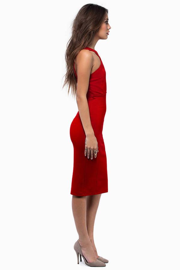In Rotation Midi Dress