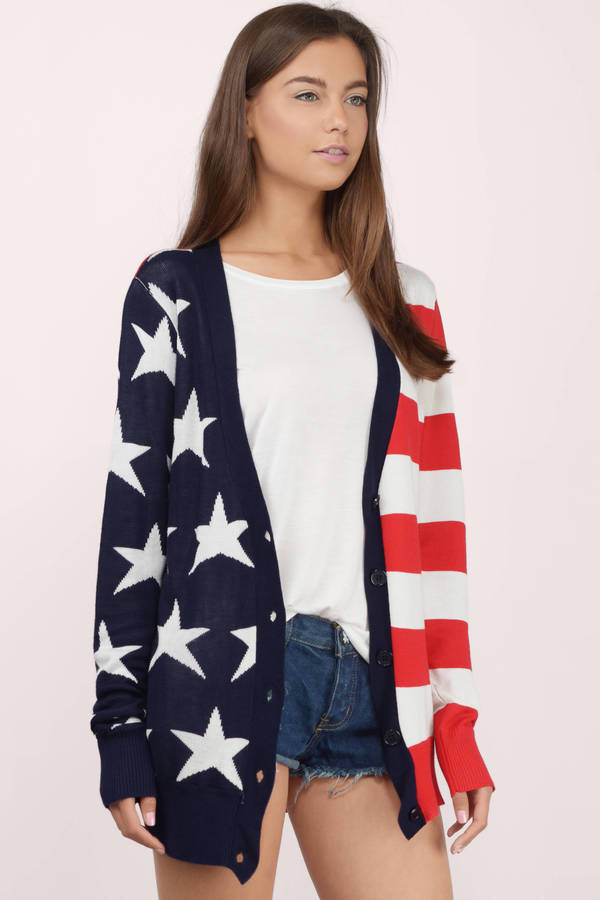 Lady Liberty Cardigan