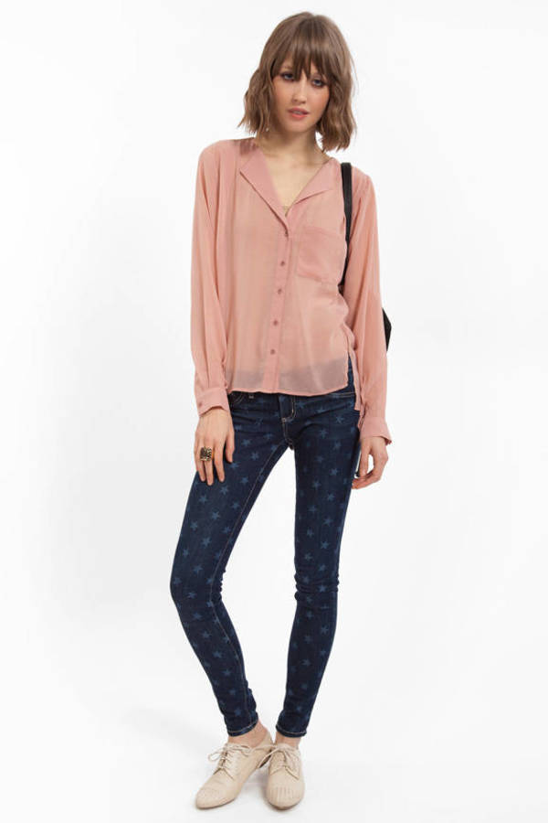 Addy Button Up Blouse