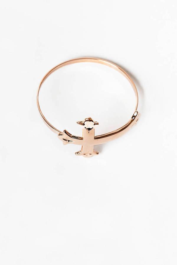 Victorian Cross Bracelet