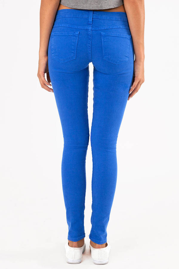 Flying Monkey Colored Skinny Jeans
