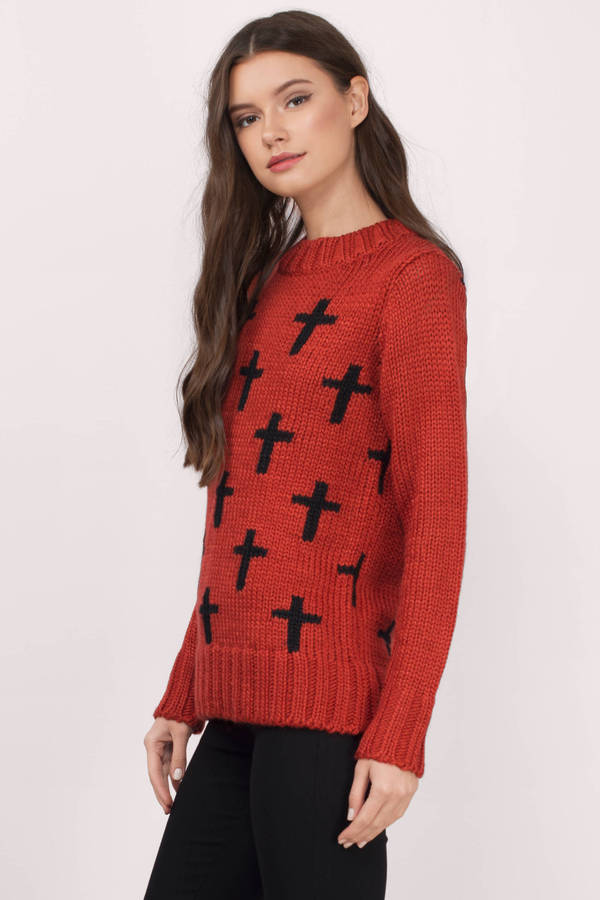 Multi Cross Your Sweater
